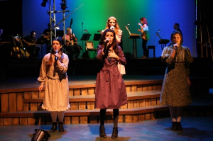 Bradley University's  Spring Awakening  shows adolescent girls in shorter hemlines and girly details.