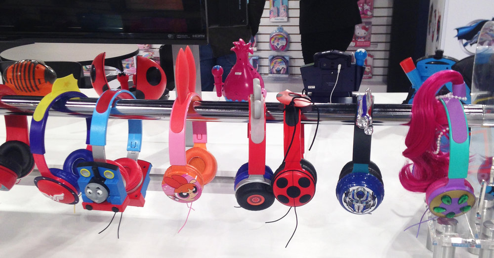 Child Headphone - Factory Mockup