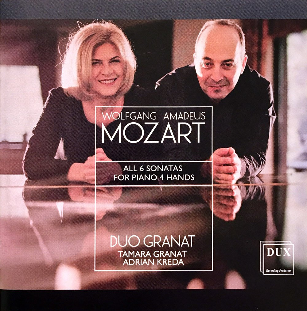 Mozart - Complete Piano Sonatas for 4 Hands