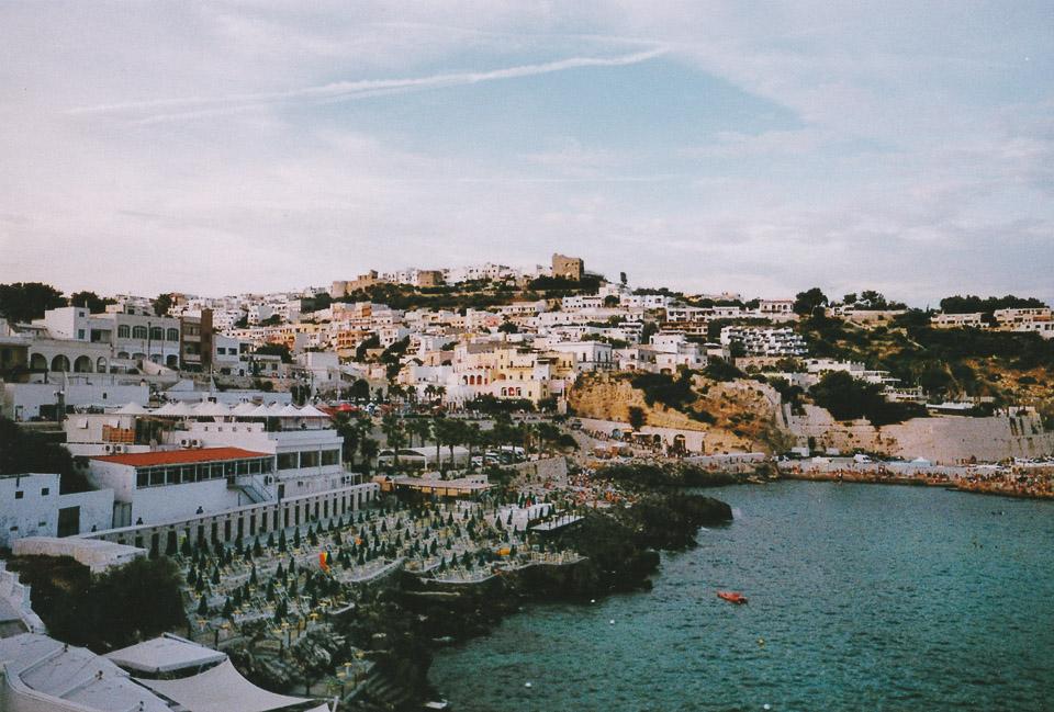 Castro, Puglia // taken with a disposable camera