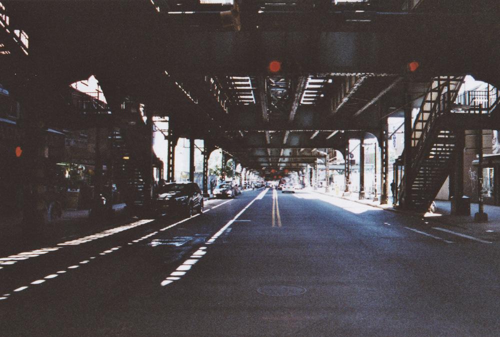Brooklyn //taken with a Nikon FM2 + Fujipro 400H