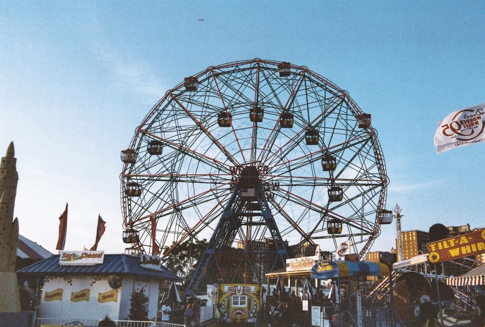 Coney Island, Boorklyn //taken with a Nikon FM2 + Fujipro 400H