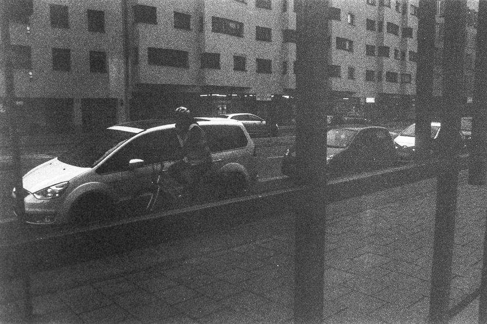 Munich, Germany // taken with a Nikon FM2 + Ilford HP5 Plus 400