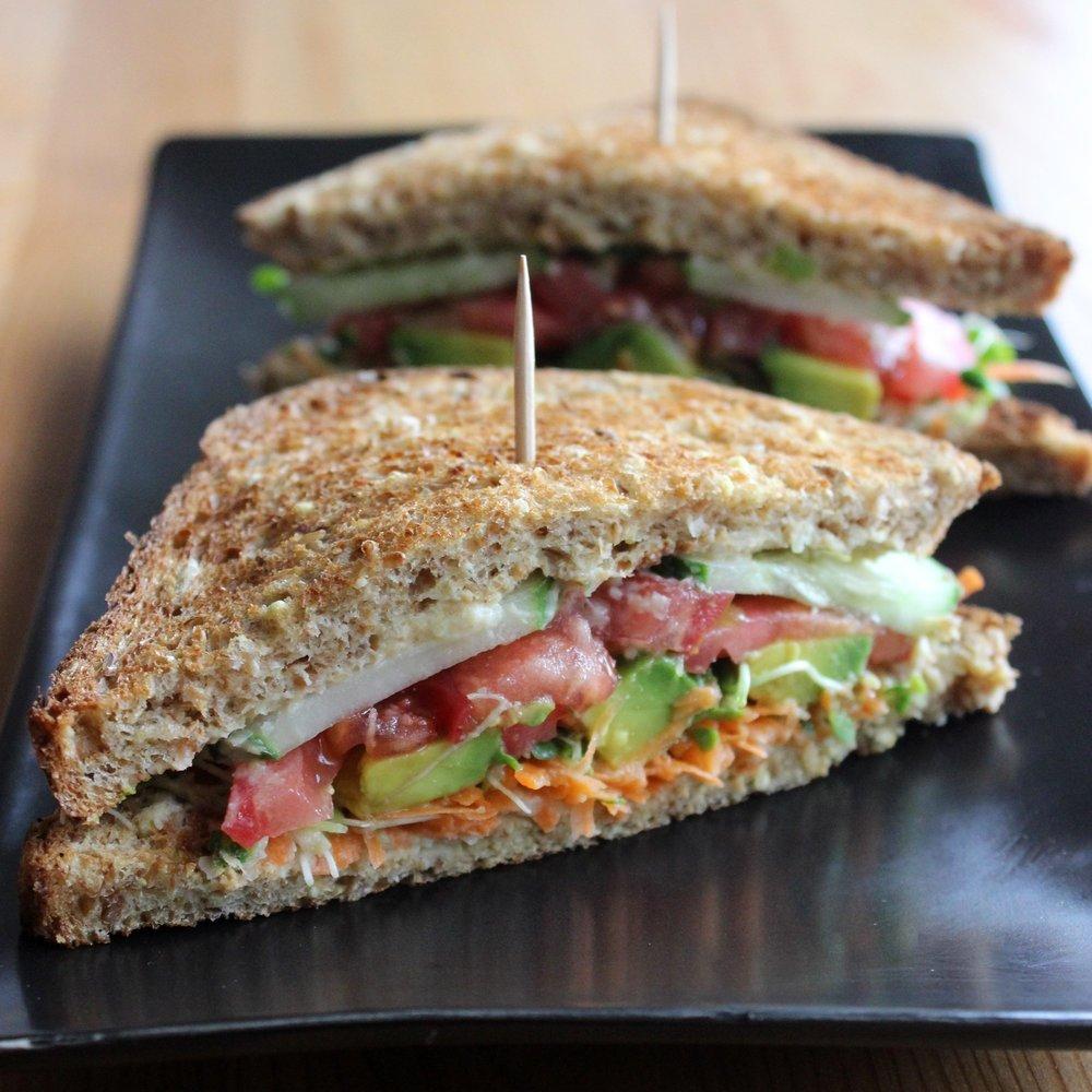 Veggie Spelt Sandwich