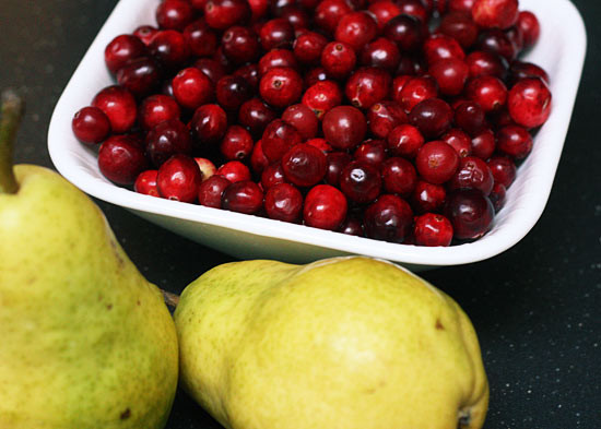 Click here  for this sugar free cranberry and pear sauce recipe.