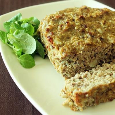 Quinoa Turkey Meatloaf