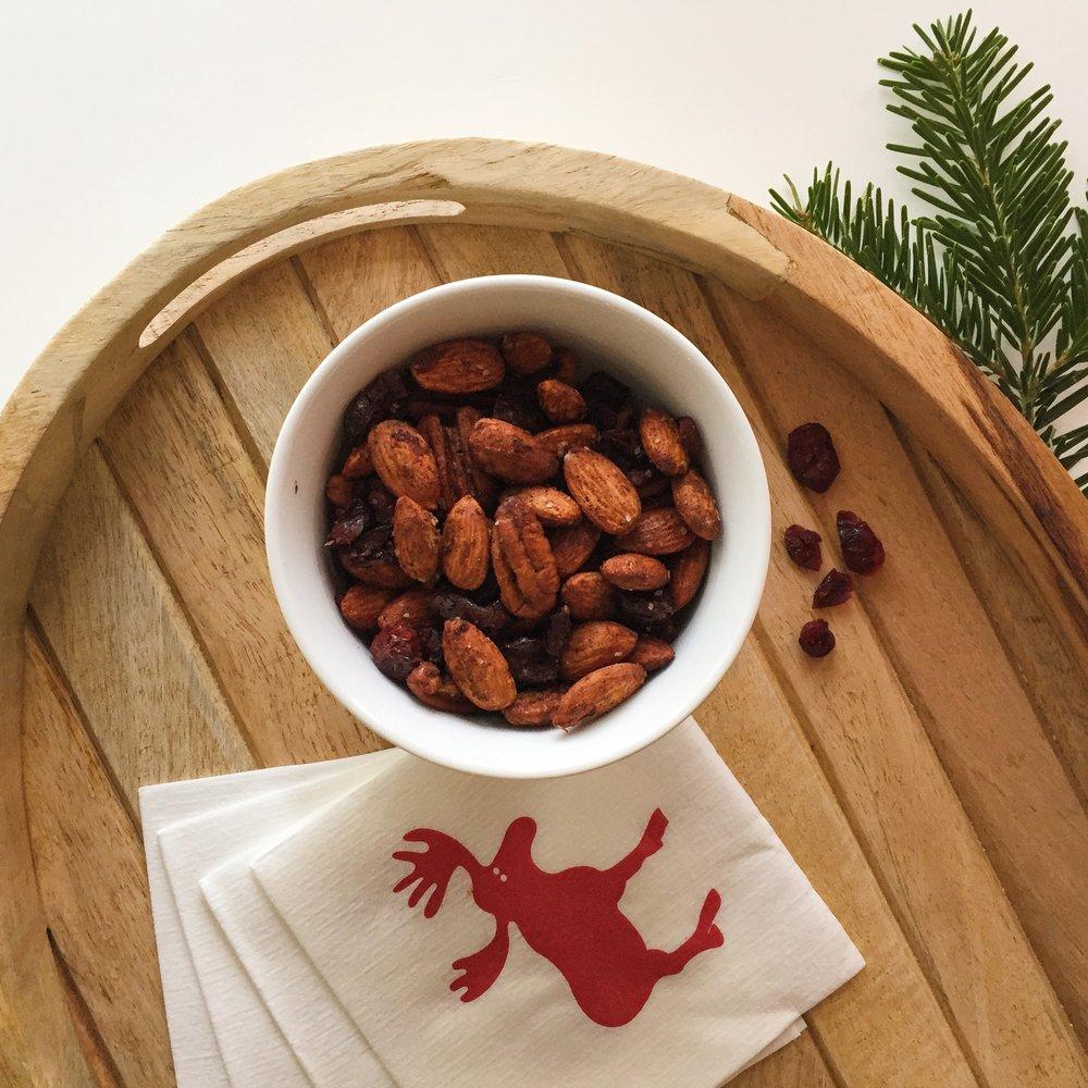 Festive Holiday Nut Mix