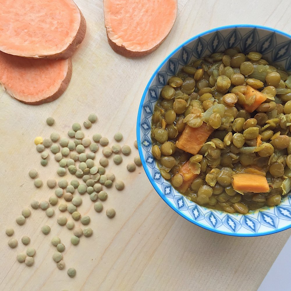 Sweet Lentil Stew