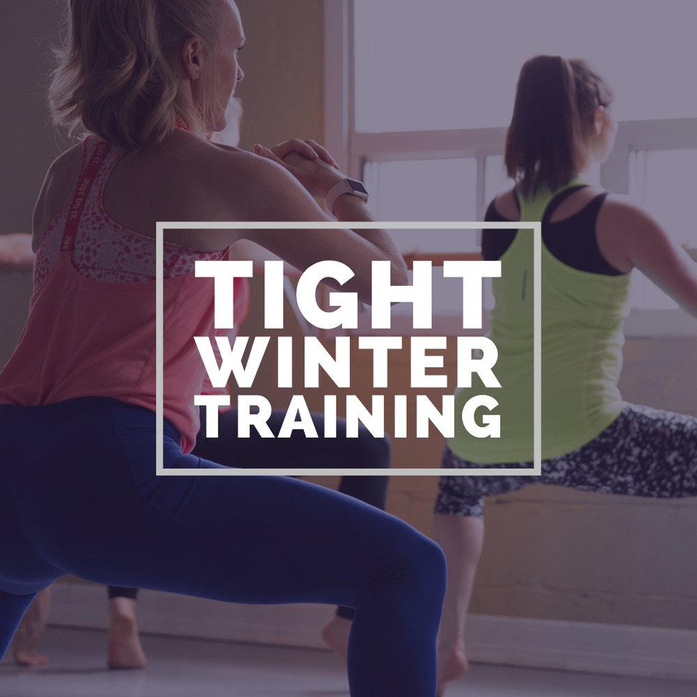 tight winter training