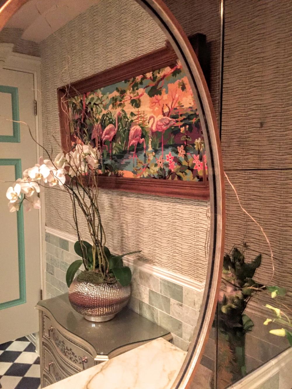 Downstairs bathroom detail