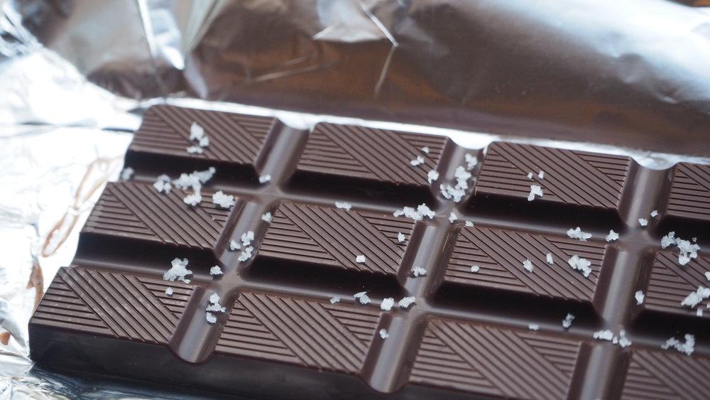 Chocolate with Fleur de Sel