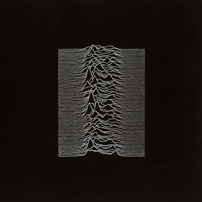 Cover for the album Unknown Pleasures by Joy Division