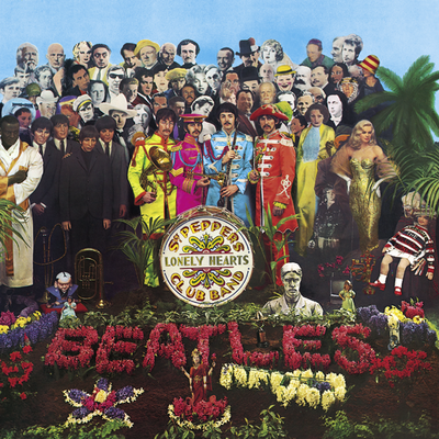 Sergeant Pepper's Lonely Heart Clubs Band by the Beatles, posted by Joshua Hoe