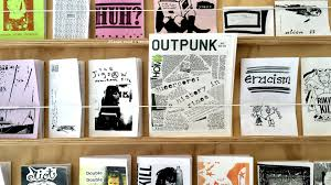 At those Record Stores there were bins of ZInes too (like Disneyland for punks)