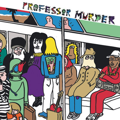 Professor Murder, Professor Murder Rides The Subway