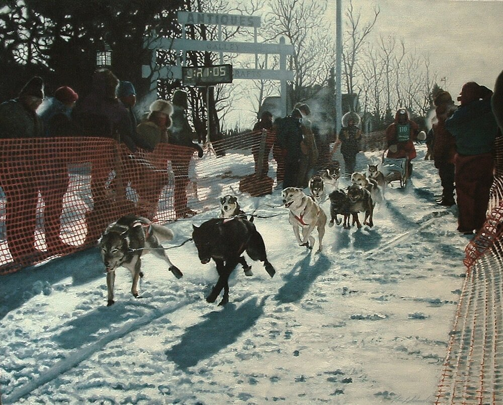 Beargrease, 2006, oil on linen, 30 x 24""