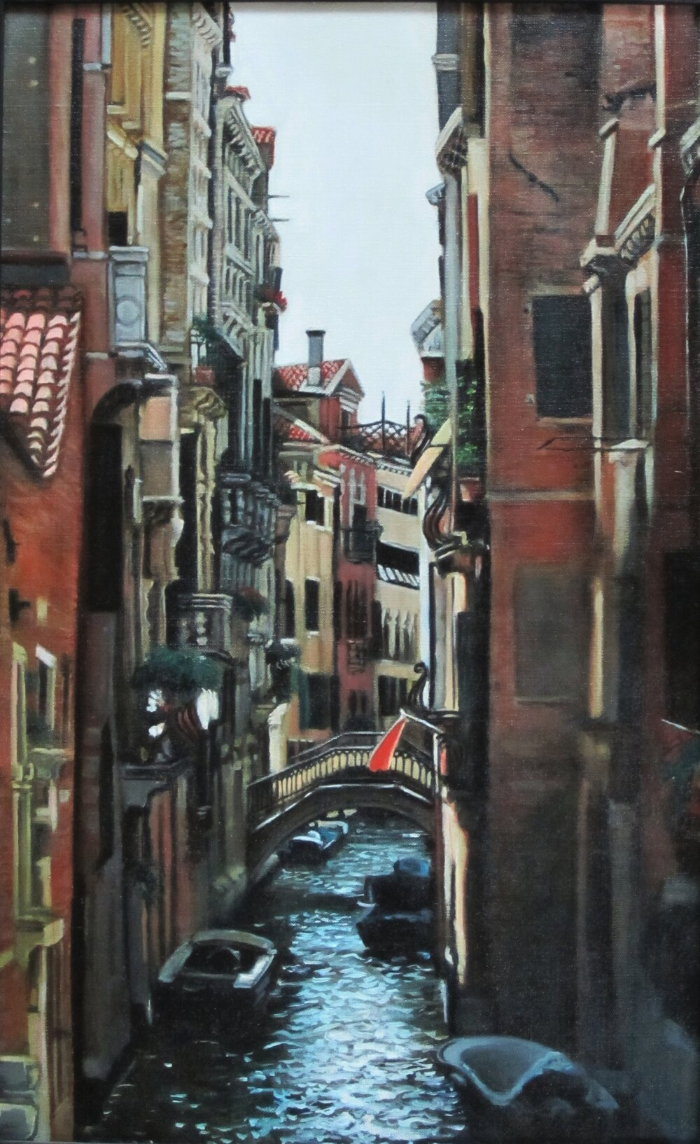 Venice, 2013, oil on canvas, 12 x 10""