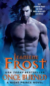 ella sheridan, romance, author, writer, erotic romance, paranormal romance, what I'm reading, jeaniene frost, night prince, vlad, leila, once burned