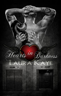 ella sheridan, author, writer, romance, erotic romance, what I'm reading, laura kaye, hard ink, hearts in darkness