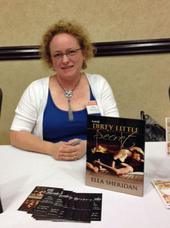 ella sheridan, writer, author, romance author, romantic suspense, book signing, heart of dixie readers luncheon