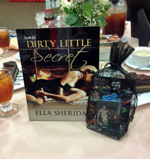 ella sheridan, author, writer, romance author, erotic romance, romantic suspense, heart of dixie readers luncheon, dirty little secret