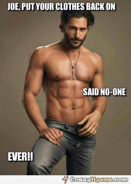 ella sheridan, author, writer, romance author, erotic romance, contemporary romance, romantic suspense, funny friday, joe manganiello, funny romance memes