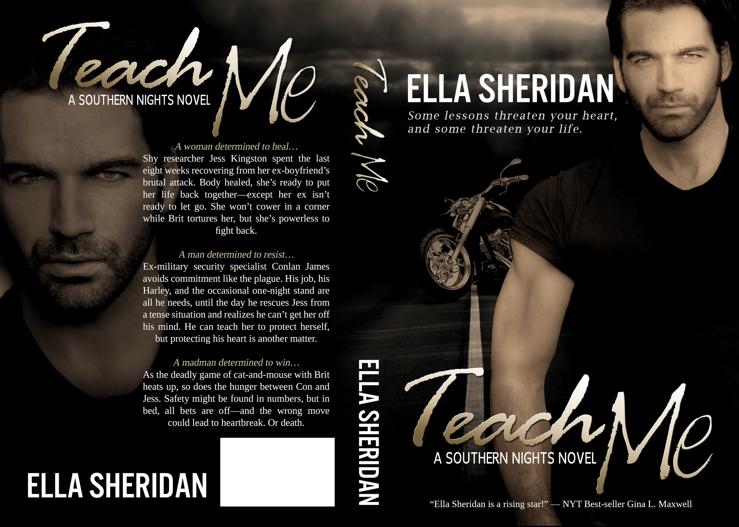 Ella Sheridan, writer, author, romance author, erotic romance, contemporary romance, romantic suspense, Teach Me, Southern Nights