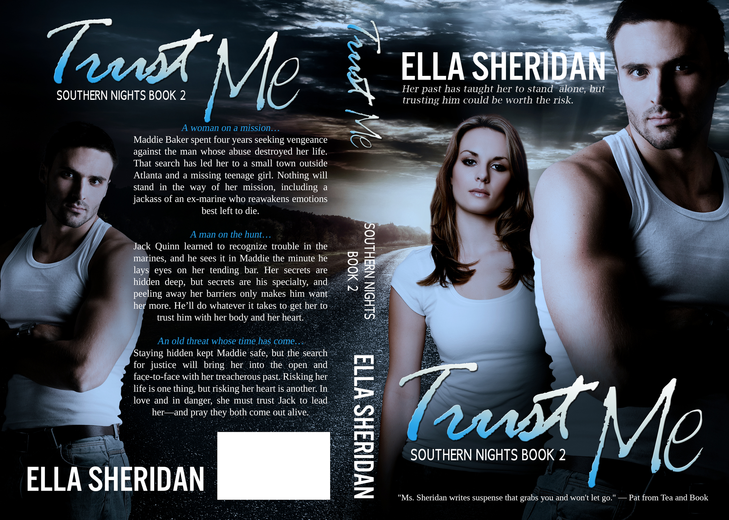ella sheridan, author, writer, romance author, contemporary romance, romantic suspense, erotic romance, trust me, southern nights series, romance series
