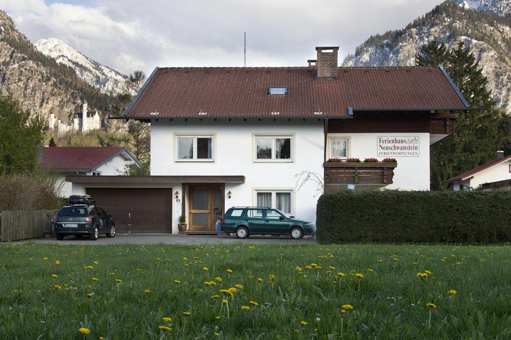 Ferienhaus-Neuschwanstein-Sommer