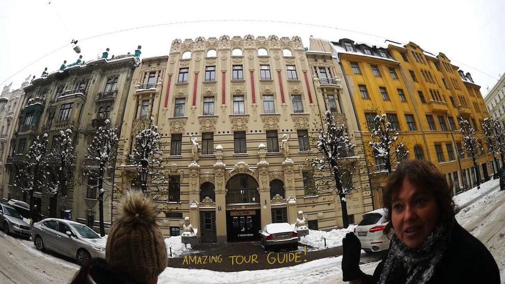 .... Juugend siin, juugend seal, juugend iga nurga peal. .. Art Nouveau here, Art Nouveau there, Art Nouveau around every corner. ....