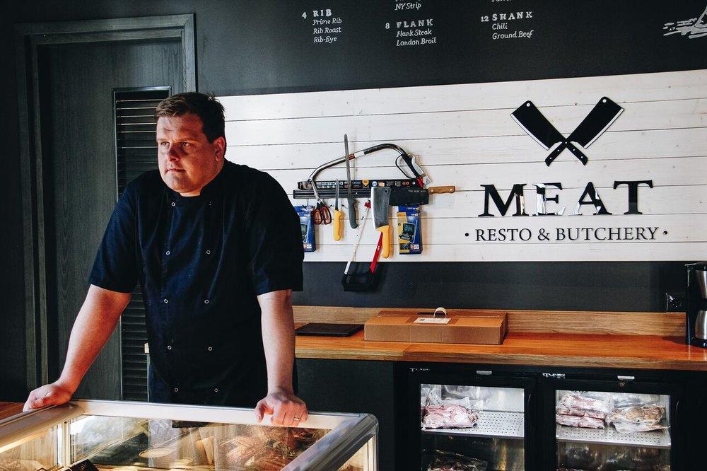 Meat Resto & Butchery peakokk  Kalvi Sedrik