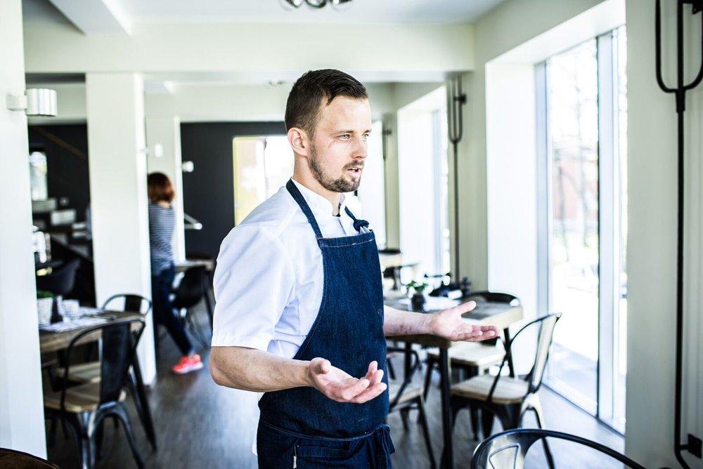 Head chef  Mihkel Võsotski
