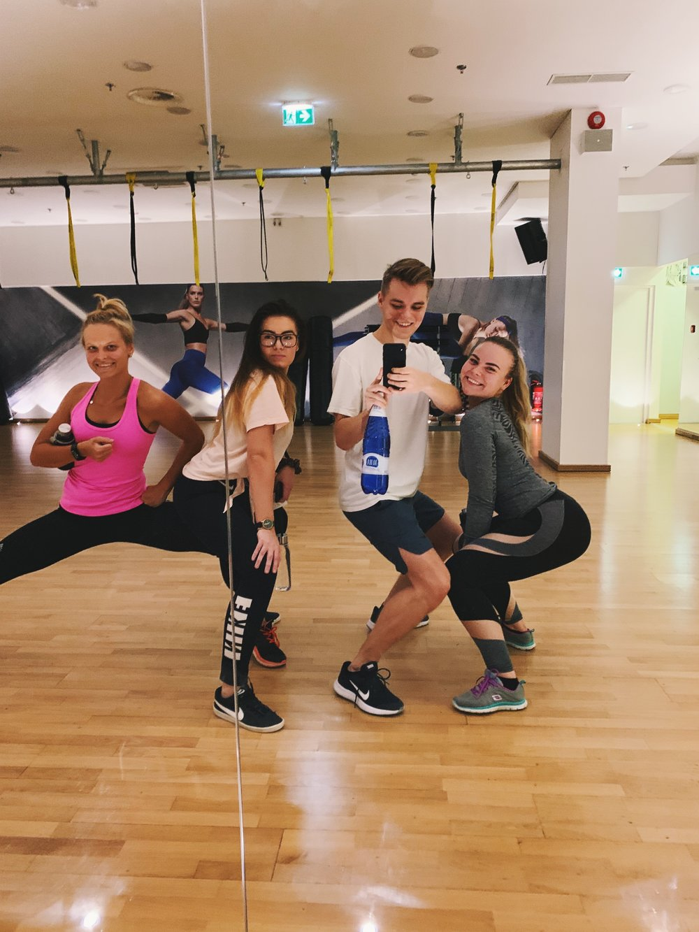 May we present to you - the Fit* Foursome - Brought to you by MyFitness & Wolt.