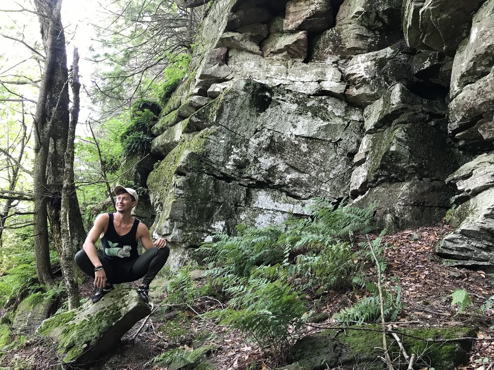 Rough bb poke in woods