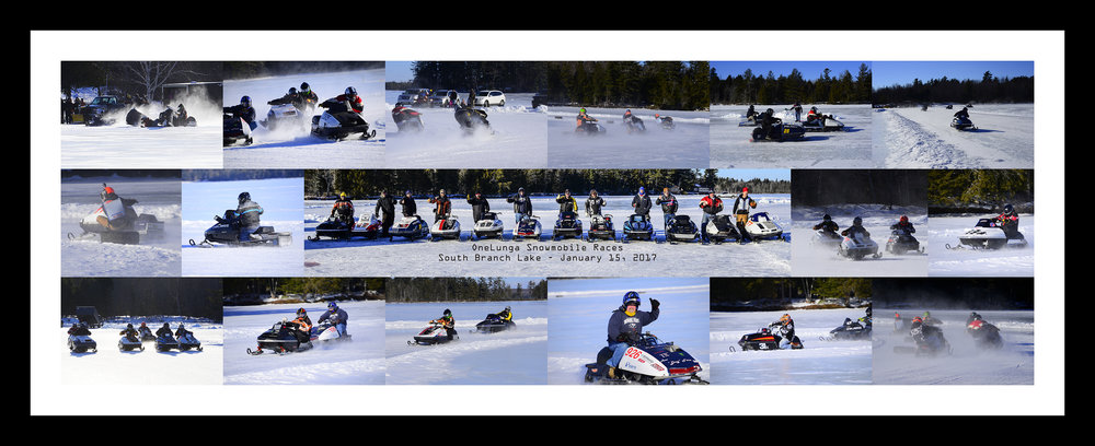 OneLunga Racing Collage - South Branch Lake