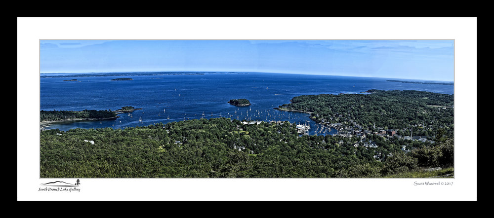 Camden Harbor on Penobscot Bay