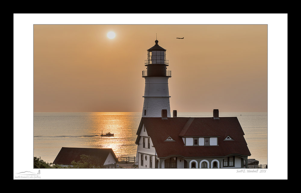 PORTLAND HEAD LIGHT - THE MORNING COMMUTE