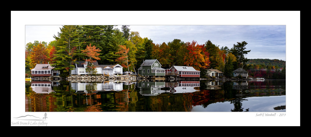 AUTUMN ON THE HOME SHORE