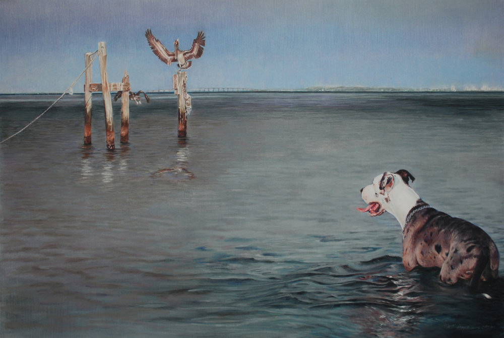 Bay Watch, by Margi Hopkins, CPSA