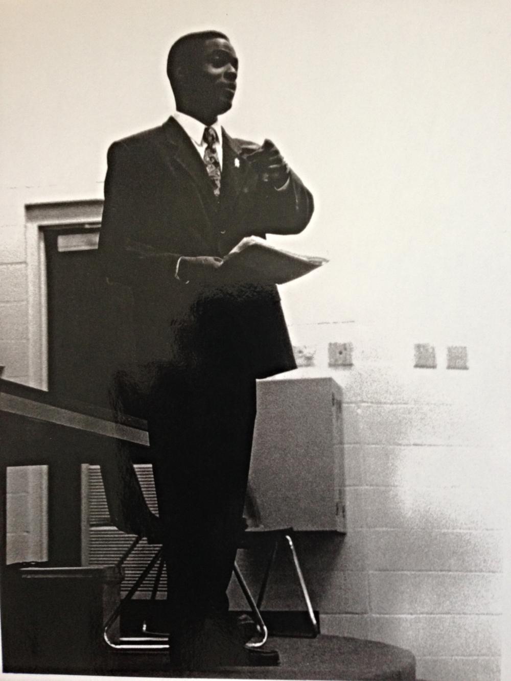 USF Student Body President, circa 1997