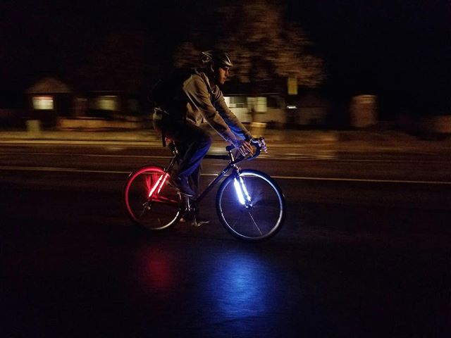 Sol-48 is made to withstand all weather conditions. Waterproof and durable to get you through your winter commute! Free shipping world wide!  www.ledbylite.com #ledbylite