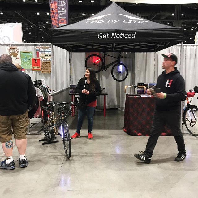 Seattle friends, get down to @centurylink_field this weekend for bikey fun @seattlebikeshow. Come see us at booth 1540 across from the bmx demo stage.