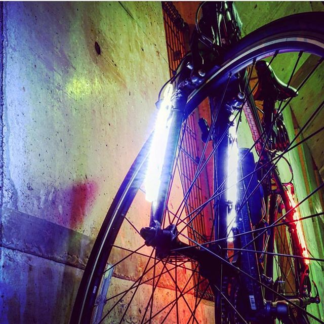 Ride with confidence! Our system, SOL-48 boasts 48 LED's, a rechargeable battery with 4 modes lasting 4-25 hours runtime, and a wireless controller for turn signals! • 360 Visibility • Anti- Theft • Weather Resistant • Universal Installation  www.ledbylite.com
