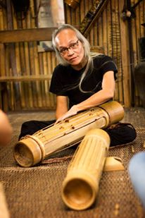 Arthur Borman(Baicas) and Perotong - Bidayuh Bamboo Zither