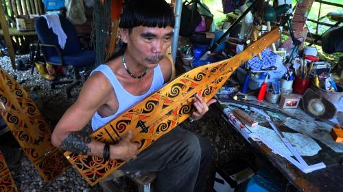 Sarawak Sape' Master Mr. Mathew Ngau Jau