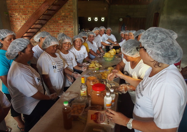 Vocational Training held in July 2015 in the pineapple-producing village of Puneng Trusan (recipient of a micro-hydro system). The volunteer trainer conducted sessions to facilitate the conversion of their bountiful pineapple harvest into less perishable products, therefore minimising waste of good fruits and providing ideas for cottage industries.