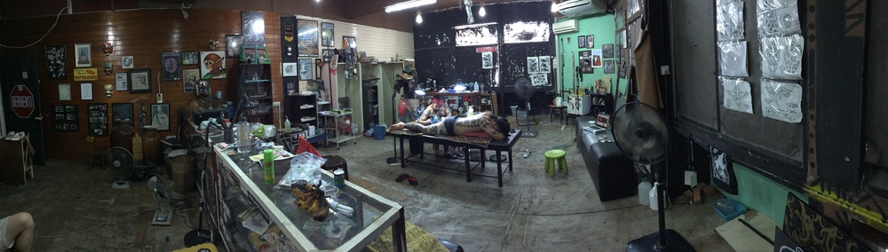 Monkey Tattoo Studio.