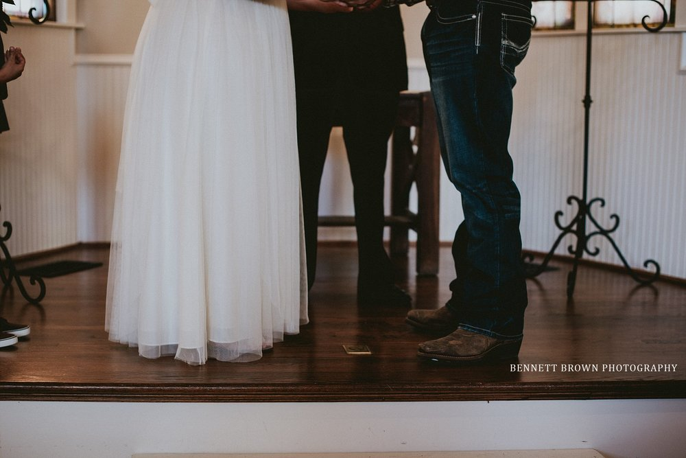 Chapel Church Wedding gown tulle details