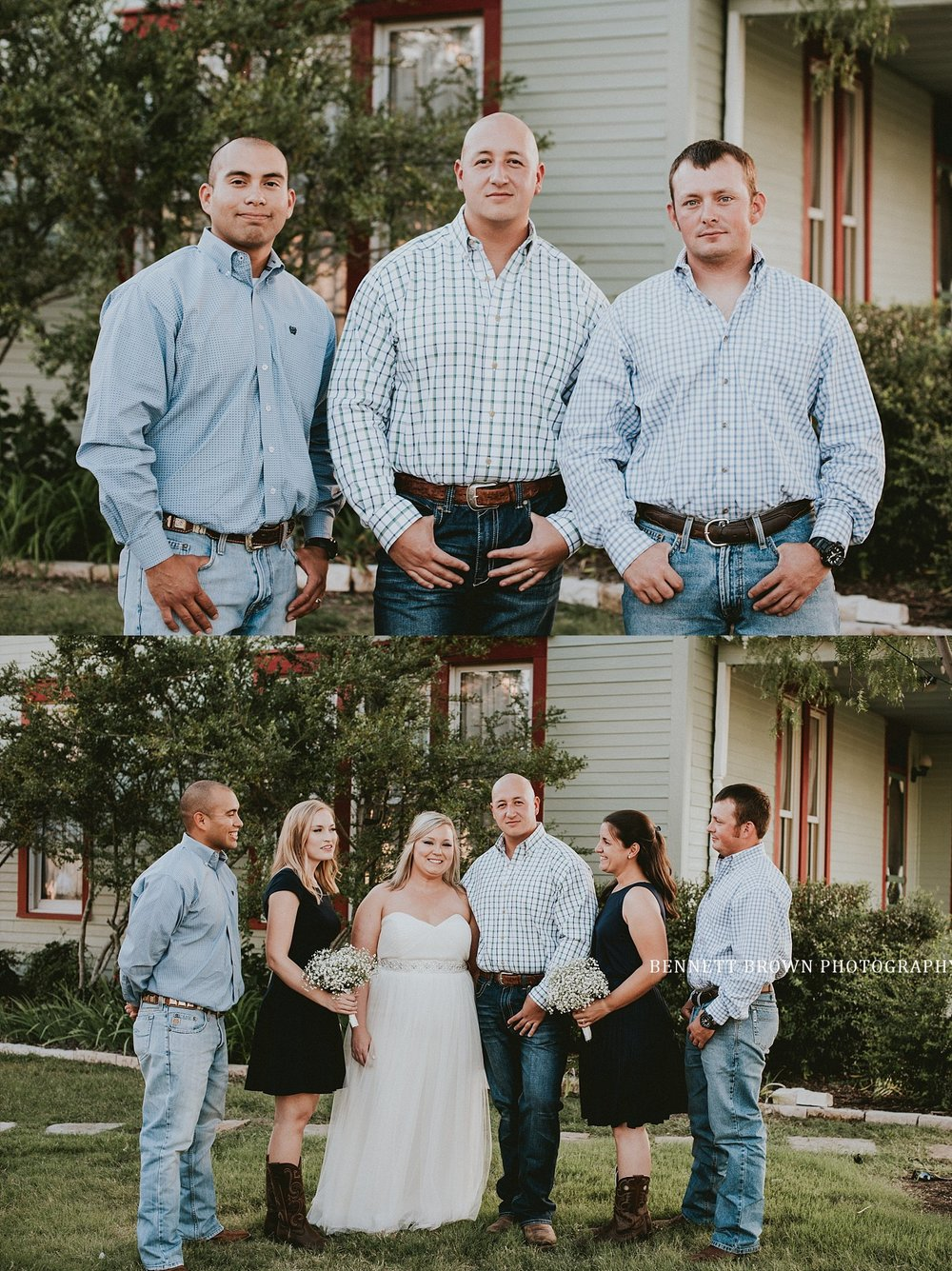 Bennett Brown Photography Frisco Texas Wedding Portraits Bridal Party