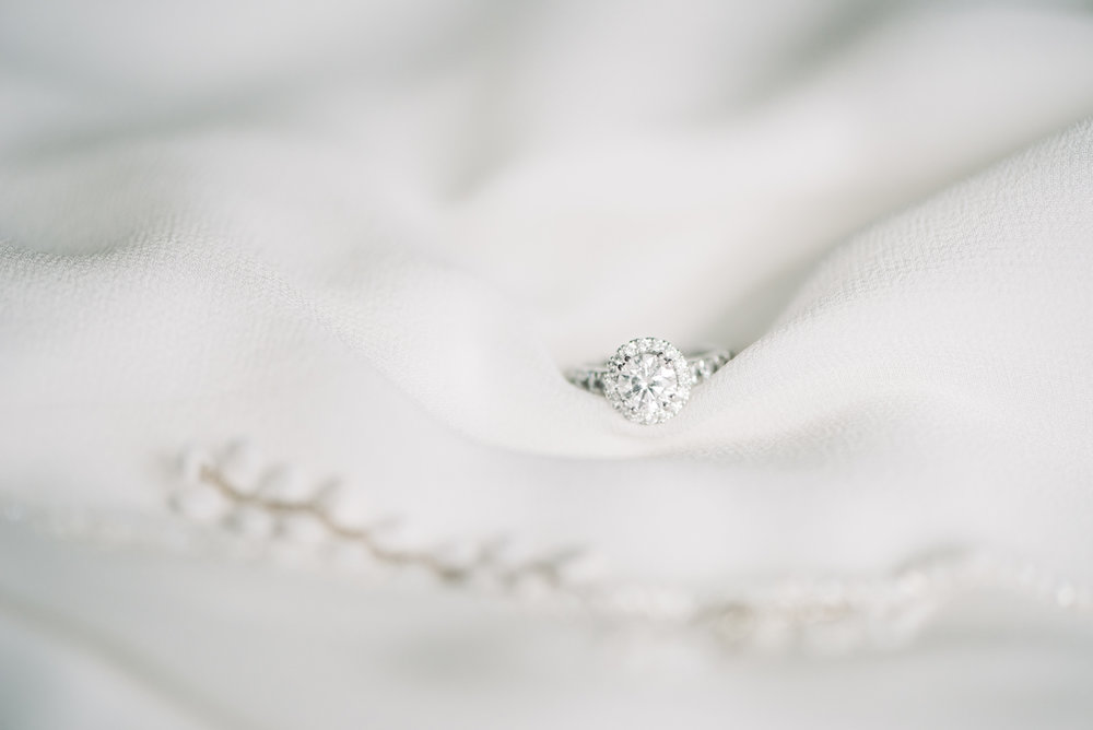Diamond rings Wedding dress gown wedding details Houston Texas portrait bride